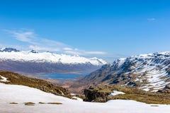 Fiordo Islandia Foto de archivo libre de regalías