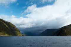 Fiordo noruego imágenes de archivo libres de regalías