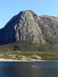 Fiordo noruego Foto de archivo libre de regalías