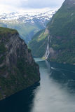 Fiordo noruego 2 Imagen de archivo