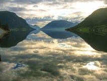 Fiordo noruego Fotos de archivo