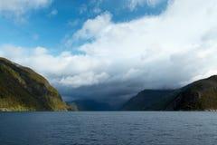 Fiordo norvegese immagini stock libere da diritti