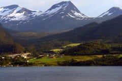 Fiordo norvegese Immagine Stock Libera da Diritti