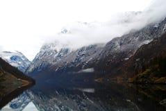 Fiordo, Norvegia Fotografia Stock Libera da Diritti