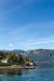 Fiordo Norvegia Immagine Stock Libera da Diritti
