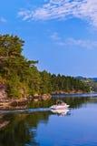 Fiordo - Norvegia Immagini Stock Libere da Diritti