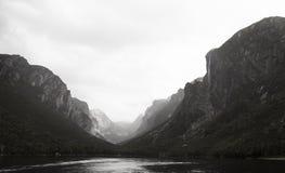 Fiordo occidental de la charca del arroyo Foto de archivo