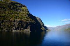 Fiordo Viaggio-Norvegia nel guscio di noce Fotografie Stock Libere da Diritti