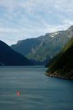 Fiordos Fotografía de archivo libre de regalías