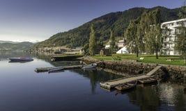 Fiordos de Noruega foto de archivo