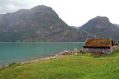 Fiordos en Noruega imagen de archivo libre de regalías