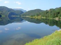 Fiordos noruegos Imagen de archivo libre de regalías