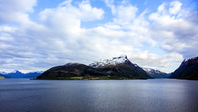 Fiords of Norway Royalty Free Stock Photography