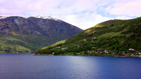 Fiords of Norway Stock Image