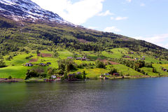 Fiords of Norway Royalty Free Stock Images