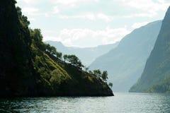 fiordu Norway sceniczny Fotografia Royalty Free
