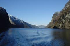 fiordu po norwesku Obraz Royalty Free