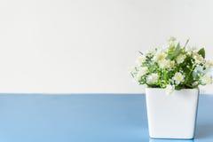 Fiore artificiale del gelsomino Fotografie Stock Libere da Diritti