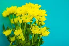 Fiore artificiale giallo variopinto nell'ufficio che ha fatto meglio Immagini Stock Libere da Diritti