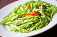 Fiore asiatico fritto Fotografie Stock