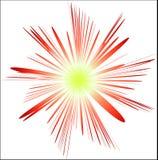 Fiore astratto Fotografie Stock