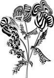 Fiore astratto illustrazione vettoriale
