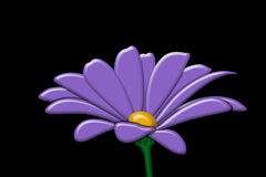 Fiore B illustrazione di stock