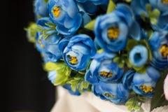 Fiore celeste fotografie stock libere da diritti
