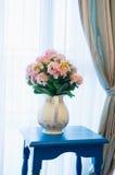 Fiore con il vaso Fotografia Stock Libera da Diritti