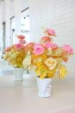 Fiore con la riflessione dell'interno Fotografia Stock Libera da Diritti