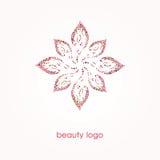 Fiore dalle bolle Logo di bellezza Fotografie Stock Libere da Diritti