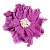 Fiore decorativo di cuoio Immagine Stock