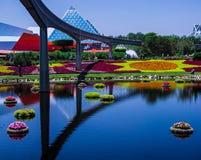 Fiore del centro di Epcot e festival del giardino - Walt Disney World Fotografie Stock Libere da Diritti