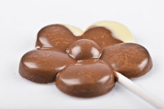 Fiore del cioccolato Fotografia Stock Libera da Diritti