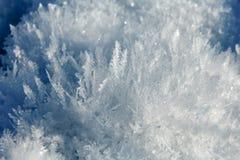 Fiore del cristallo di ghiaccio Fotografia Stock Libera da Diritti