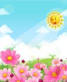 Fiore del fiore illustrazione di stock
