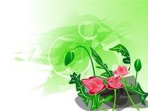 Fiore del fondo, progettazione, vettore Fotografie Stock