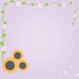 Fiore del girasole Royalty Illustrazione gratis