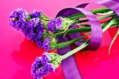 Fiore del Limonium Fotografia Stock Libera da Diritti
