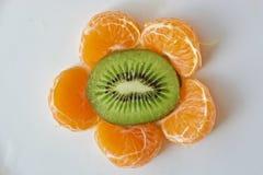 Fiore del mandarino Fotografie Stock Libere da Diritti