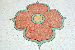 Fiore del pavimento Fotografia Stock Libera da Diritti