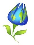 Fiore del pianeta illustrazione vettoriale