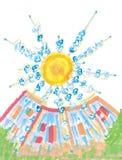 Fiore del sole Immagine Stock Libera da Diritti