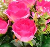 Fiore del tessuto, fondo floreale Immagini Stock Libere da Diritti