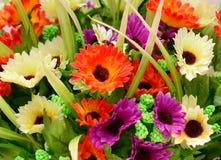 Fiore del tessuto, fondo floreale Immagini Stock