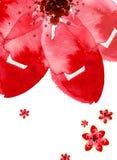 Fiore dell'acquerello Immagine Stock