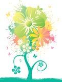 Fiore dell'acquerello Fotografia Stock Libera da Diritti