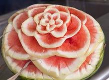 Fiore dell'anguria Fotografie Stock