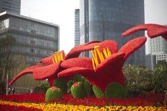 Fiore della città di Guangzhou Immagine Stock