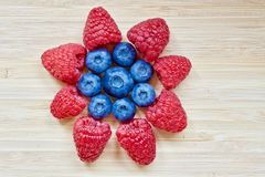 Fiore della frutta Fotografie Stock